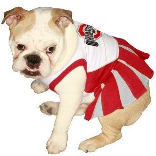 Pets First NCAA University of Ohio Buckeyes Cheerleader