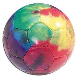 Tie Dye Soccer Ball