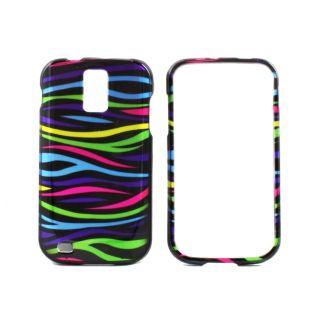 Premium Samsung Galaxy S II Rainbow Zebra Protector Case