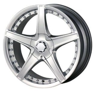 17x7 Sacchi 245 (Silver) Wheels/Rims 4x108/108 (2457720S)