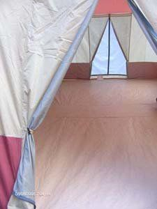 16 x 10   3 ROOM Family Cabin Tent, With Full, Wrap