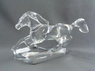 Baccarat Galloping Horse