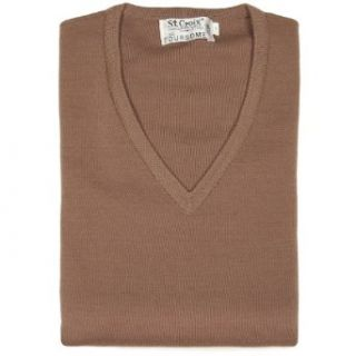 St. Croix Men's Merino Wool Sweater Vest Clothing