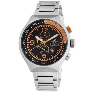Montres De Luxe Mens 50 MM Type 12 Summer Orange Helicopter Watch