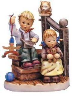 Hummel Wishes Come rue Figurine