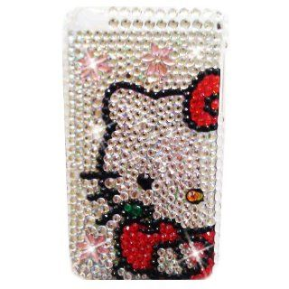 HELLO KITTY Apple iPod Touch 4th Generation iTouch 4 Rhinestones Bling