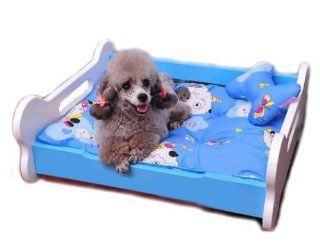 large Attractive Natural Solid Wood Style Frame Pet Dog