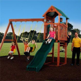 Conover Wooden Swing Set Toys & Games