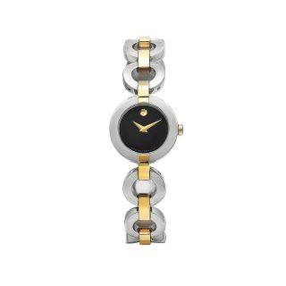 Movado Womens Belamoda Two  tone Stainless Steel Watch