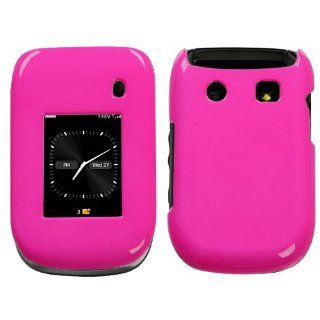 Neon Hot Pink Protector Case for BlackBerry Style 9670