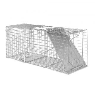 Advantek Catch and Release Live Animal Trap for Large Raccoons