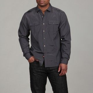 No Retreat Mens Dexter Woven Shirt