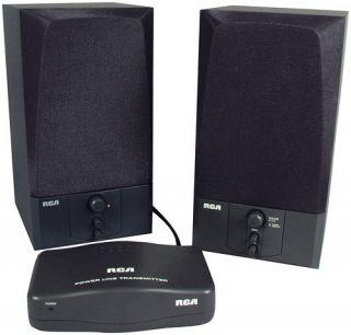 RCA RC970 AC Powerline Wireless Speakers