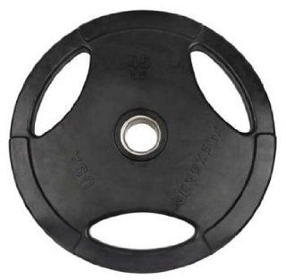 45 lb Cast Iron Rubber Coated Weight Plates for Crossfit