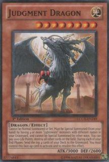 Yu Gi Oh!   Judgment Dragon (LCGX EN249)   Legendary