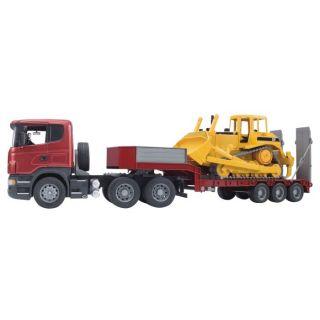 Camion SCANIA R avec porte engins et bulldozer Série PRO de la marque