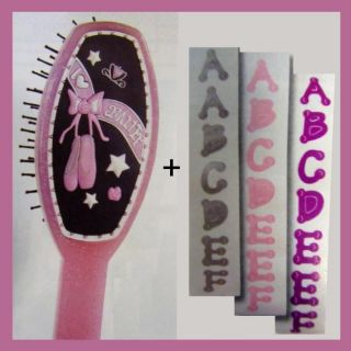 Personalize Your Own Love Ballet Hair Brush