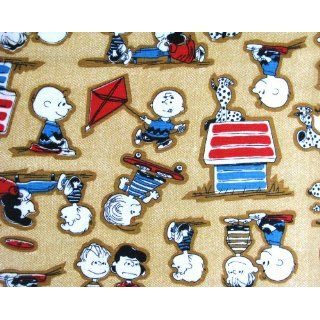 Charlie Brown Peanuts Gang Fabric ~ 2 yards ~ 45 wide ~ Lucy, Linus