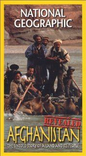 National Geographic Afghanistan Revealed [VHS] Sebastian