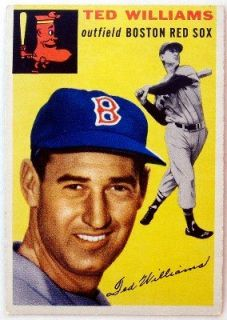 Ted Williams 1954 Topps Card #250