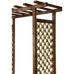 Japanese Style Bamboo Garden Gate Trellis (China)
