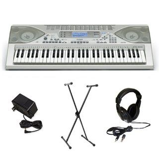 Casio CTK900 Electronic Keyboard with Premium Accessories