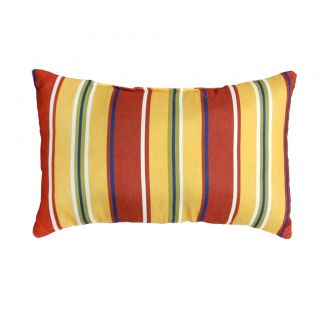 Mayan Stripe Rectangle Outdoor Accent Pillows (Set of 2)