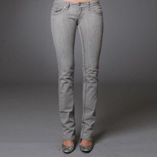 Laguna Beach Womens Redondo Beach Straight Leg Jeans