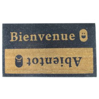 Beinvenue Abientot Coir Door Mat