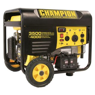 Champion 3500 Watt Portable Generator Compare $619.95 Today $519.99