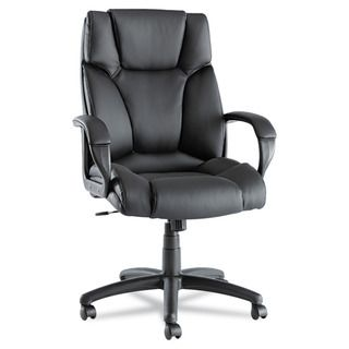 Alera Fraze High back Swivel / Tilt Black Leather Chair