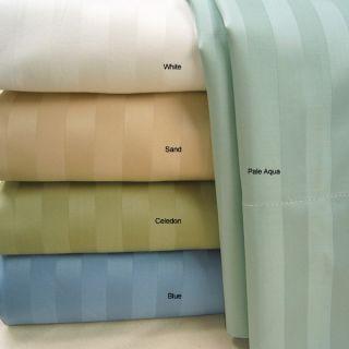 Pima Cotton 400 Thread Count Striped Duvet Cover Set