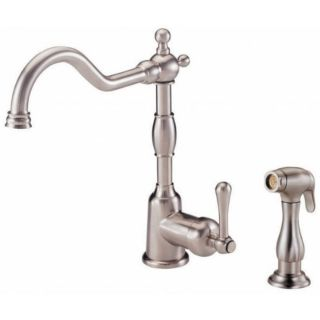 Danze Opulence Single handle Stainless Steel Kitchen Faucet with Spray