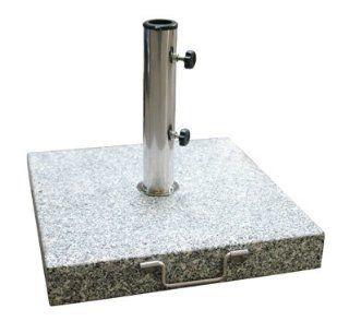 Hergestellt für DEMA Sonnenschirmständer 45x45 Granit grau 40 kg