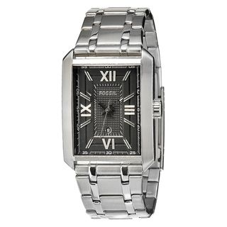 Fossil Mens Roman Stainless Steel Watch