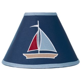 Sweet JoJo Designs Nautical Nights Navy Lamp Shade