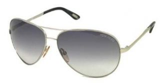 AUTHENTIC TOM FORD SUNGLASSES FT0035 CHARLES SILVER TF 35