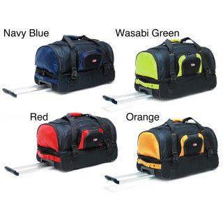 CalPak Temptation 26 inch Rolling Multi compartment Travel Duffel Bag