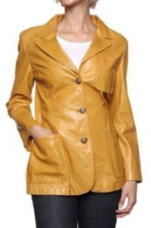 Cristiano di Thiene Leather Jacket MEXICO, Color: Cognac