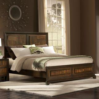 Birken Twin size Two tone Wood Bed