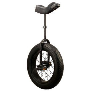 Sun 20 XL Unicycle Gloss Black with Chopper tire (20 x 4