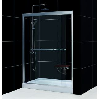 Duet Shower Door with  30x60 inch Base Tub To Shower Kit Today