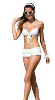 dreiteiliger Bikini   mit Rock Bekleidung