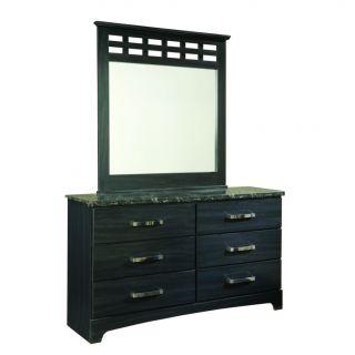 Olivia Black Oak Grain Mirror Today $169.99