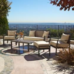 RST Outdoor Zen 7 piece Seating and Lounger Set
