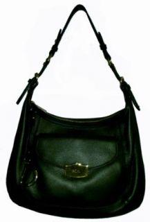Womens Lauren Ralph Lauren Gansevort Hobo Handbag (Olive