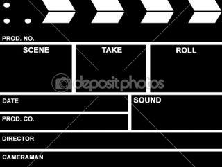 Film Clap Board  Photographie Georgios Kollidas © #1409476