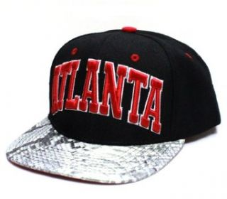 City Hunter Cf1531 New Snake Skin Snapback  Atlanta   One