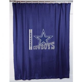 Sports Coverage Dallas Cowboys Shower Curtain Clothing