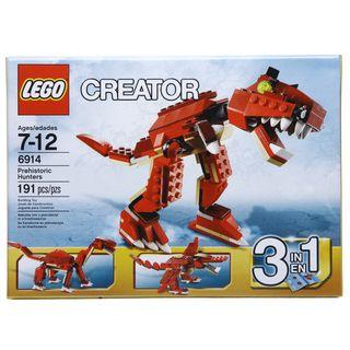 LEGO Prehistoric Hunters Set 6914